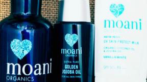 自然と肌に優しいオーガニックコスメ「moani organics」