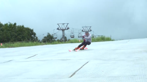 技術選3連覇 栗山未来ピスラボレッスン vol.2「スキーの傾きを強くしてグリップ力を得る!」