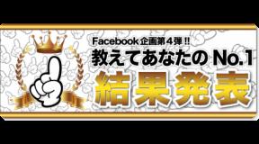タナベスポーツFacebook企画「教えてあなたのNo.1」結果発表!