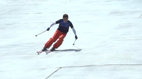 栗山太樹ピスラボレッスンvol.3「体軸の傾きを意識して滑ってみよう」