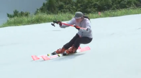 技術選3連覇 栗山未来ピスラボレッスン vol.3「スキーの傾きを強くしたときの上体のバランスを取る」