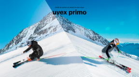 Snow Gear Collction 2019 F&W UVEX ヘルメット「primo」&ゴーグル「compact FM」