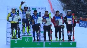 第98回全日本スキー選手権アルペン競技会 男子SL速報結果
