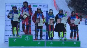 第98回全日本スキー選手権アルペン競技会 女子SL速報結果