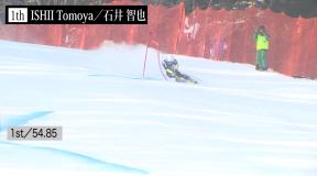 第98回全日本スキー選手権アルペン競技会 男子GSハイライト&インタビュー