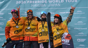 Freeride World Tour Hakuba JAPAN 2020 大会結果