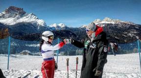 2021 FISアルペンスキー世界選手権 水谷美穂インタビュー