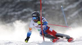 2021第99回全日本スキー選手権大会アルペン競技 男子SL大会結果&優勝インタビュー