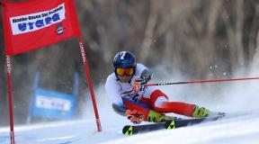 2021第99回全日本スキー選手権大会アルペン競技 男子GS大会結果&優勝インタビュー